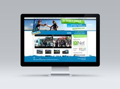 Website - subpage Monitor, Electronics, Website, Consumer Electronics