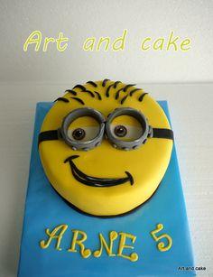 Minion cake/taart