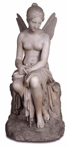 TENERANI, Pietro Psyche Abandoned 1816-17 Marble Galleria dell'Arte Moderna, Palazzo Pitti, Florence
