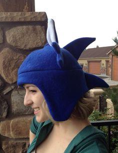 ad9c1ff2518 Sonic the Hedgehog Inspired Fleece Hat Handmade