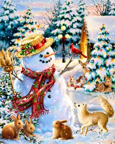 Gelsinger Licensing Group – Artwork - Dona Gelsinger - Christmas Whimsy