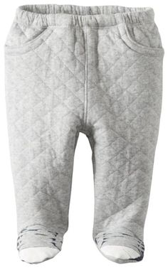 Amazon.com: Kapital K Baby-Boys Newborn Footed Pant with Shoe Screen, Grey Heather, 0-3 Months: Clothing