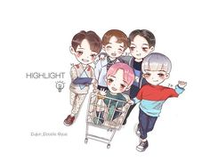 good morning @yysbeast @beeeestdjdjdj @highlight_dw @bigbadboii @gttk0000 #highlight #dujun #yoseob #junhyung #dongwoon #dongwoon #하이라이트
