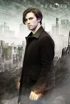 Peter Petrelli's superpower is held within his magnificent emo hair.
