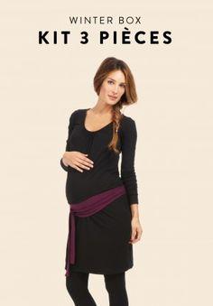 Les boxs maternité sont des vêtements grossesse incontournables de votre dressing pour passer neuf mois en beauté !