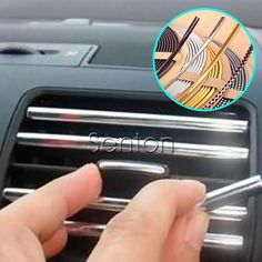 3M DIY Car Interior Chrome Decoration Strip For Ford Focus 2 3 Fiesta Mondeo MK4 Kuga Lexus Mazda 3 6 CX-5 Lifan x60 Accessories