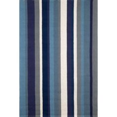 Vertical Stripe Outdoor Rugs - More Colors Available