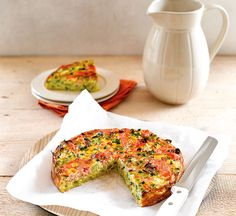 Salmon polenta quiche - Healthy Food Guide