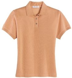 Ladies Silk Baby Pique Polo Shirt (up to size 2X) Bigmansland. $61.99