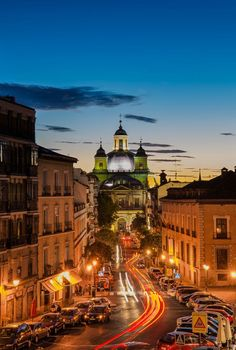 The Streets of Madrid, Spain