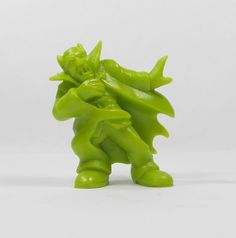 Monster In My Pocket - Series 1 - 33 Vampire - Olive Green - Mini Toy Figure