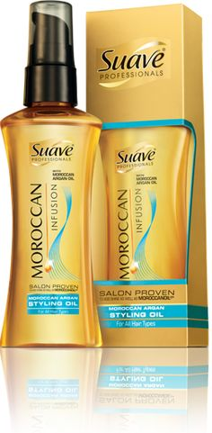 Suave Professionals Moroccan Infusion ~ main ingredient is ARGON OIL. Whether you use Suave products, Avon, or Josie Maran.... Argon Oil makes your hair feel AMAZING!!!