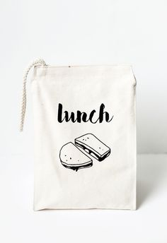 DIY Lunch Bag with Printable » The Merrythought