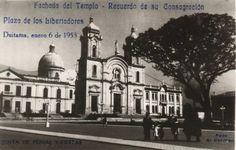 Duitama Antigua _Duitama (Boyacá) en el año 1953,