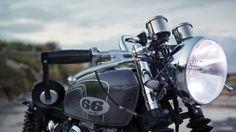 Honda CB350 Cafe Racer by 66 Motorcycles. (via Honda CB350 Cafe Racer by 66 Motorcycles | Straightspeed)