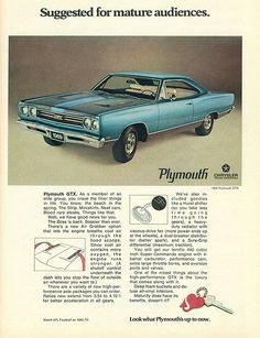 1969 Plymouth GTX Hardtop. http://www.pinterest.com/jr88rules/mopar-muscle/ #MoparMuscle