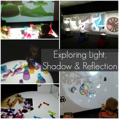 Exploring light, shadow and reflection.