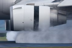 crusingaltitude: Jet Engines in Reverse! by Tim de Groot -. Reverse Thrust, Mcdonnell Douglas Md 11, Aircraft Engine, Jet Engine, Looks Cool, Ux Design, Engineering, Design Inspiration, Ui Ux