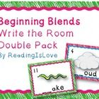 This is a pack of 2 write-the-rooms for your students to practice identifying beginning blends.  Each set is comprised of 16 words, for a total of ...