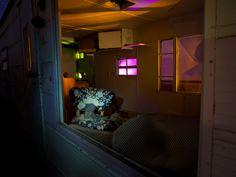 Midnight Cowboy      Kid's boot in derelict trailer at Hollywood rentals alumni night 5/5/12