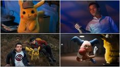 Probably The Best Scenes Of The Trailer Pikachu, Cute Pokemon, Official Trailer, Kamen Rider, I Movie, Video Games, Kawaii, Cosplay, Board