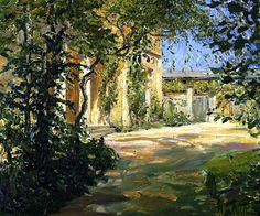 Max Slevogt - Country House in Godramstein