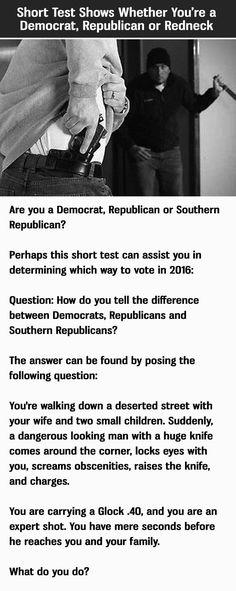 Redneck-Quiz kostenlos