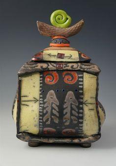 daniel oliver ceramics | Pot Belly Box Series: