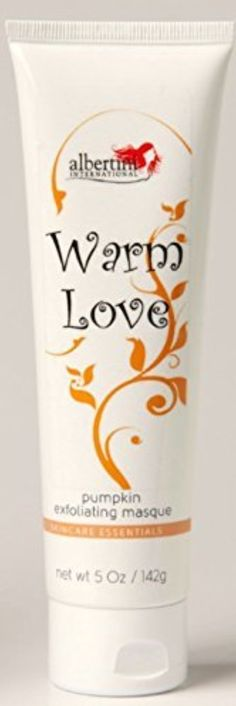 Warm Love Pumpkin Exfoliating Treatment Mask by Albertini International -- Awesome products selected by Anna Churchill