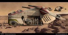 betty edit blurbs: Lego Star Wars Advent Calendar, Day 15: Republic Gunship