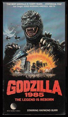 Godzilla 1985- New World Ent.