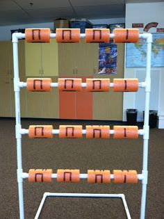 I must have this in my classroom!!! What a fun way to create rhythm patterns, derive the rhythm of a song, and it would be great to use in a music center!