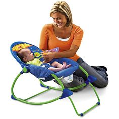Fisher-Price Infant-to-Toddler Rocker, Elephant