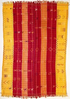 Africa | Woman's wrapper from the Nupe people of West Africa | ca. 1970s | cotton, rayon