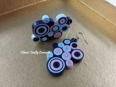 Coconut Wheel Candy Crush Earrings