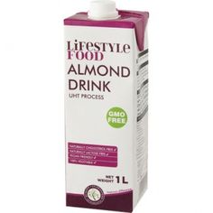 Lifestyle Food Almond Drink - product for sale online. Coconut Water, Almond, Drinks, Free, Drinking, Beverages, Almond Joy, Drink
