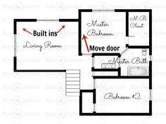 Graph Paper Template Grid In Meters A4 Diy Floor Plan For