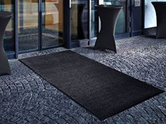 "Amazon.com : casa pura Carpet Entrance Mat, Gray (Mottled) 24"" x 36"" 