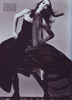 Vogue Italia May 1999 Unexpected shapes by klein — Postimage.org