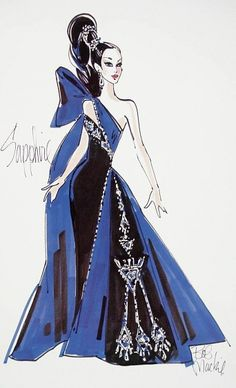 Sapphire Splendor from The Jewel Essence Collection by Bob Mackie released in 1997
