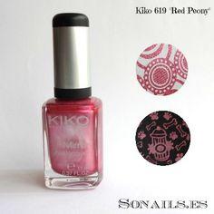 """Kiko Mirror 619 """"Red Peony"""""""