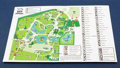 Zoo Map, Capybara, Walkabout, Red Panda, Lemur, Lions, Elephant, Leaflets, Prints