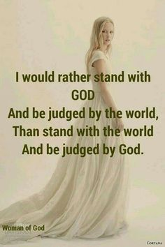 Standing with God