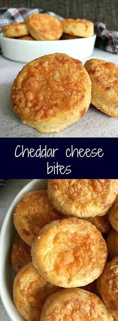Cheddar cheese bites, a delicious savoury snack that is so easy to make from scratch. Flaky, cheesy, gorgeously golden.