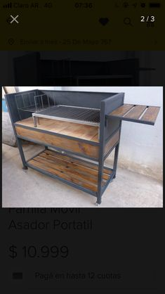 Parrilla Interior, Barbecue, Iron Work, Steel Furniture, Outdoor Cooking, Four, Grills, Street Food, Wrought Iron