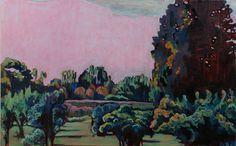 Pink Sky Landscape, Nina Weiss