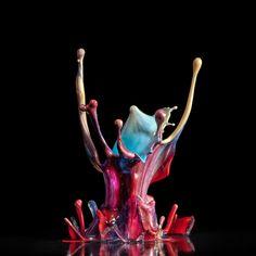 Incríveis fotografias de alta velocidade feitas com música 07