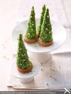 Weihnachtsbäumchen zum Essen, ein leckeres Rezept aus der Kategorie Konfiserie. Bewertungen: 302. Durchschnitt: Ø 4,7.