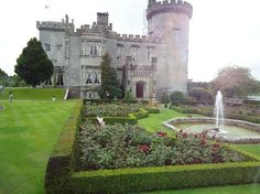 Dromoland Castle which is now a hotel in County Clair Ireland.  Stayed here a few years ago and it was AWESOME.  WTB
