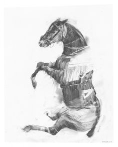 Charming Baker — Fine Art—Drawings